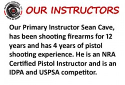 NRA Certified Firearms Instructors